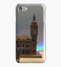 Model Building, Model Lamp, Model Train, Jerni Collection, New York Historical Society, New York City iPhone Case/Skin