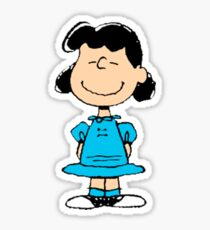 The Peanuts - Lucy Sticker