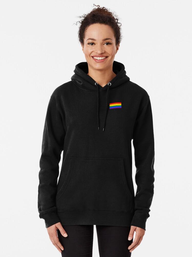 Alternative Ansicht von Gay Pride Flagge - minimalistisches T-Shirt Hoodie