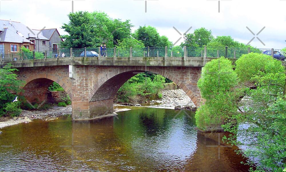 River Ericht bridge by Tom Gomez