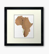 African trunk Framed Print