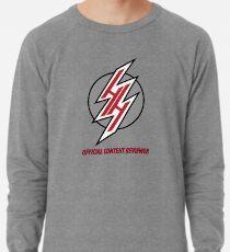 "Hentai Haven ""Official Content Reviewer"" Large Print Lightweight Sweatshirt"