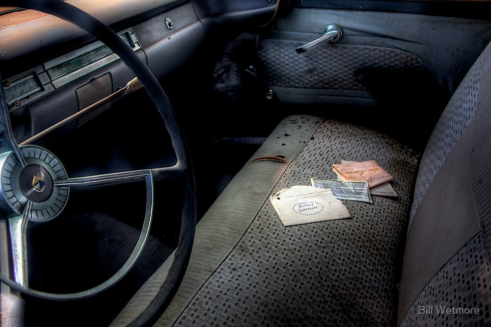 Battery Warranty -- 1959 Ford Fairlane Interior by Bill Wetmore