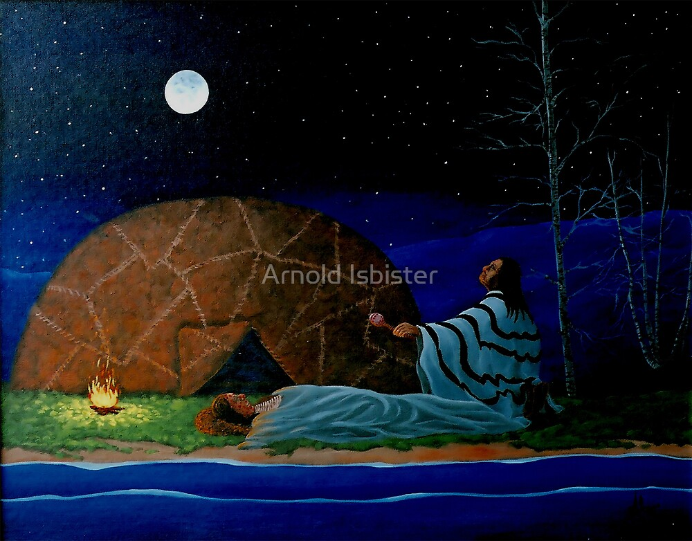 Healing Ceremony by Arnold Isbister