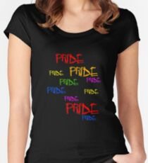 Gay Pride LGBTQ Women's Fitted Scoop T-Shirt