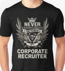 CORPORATE RECRUITER T-Shirt