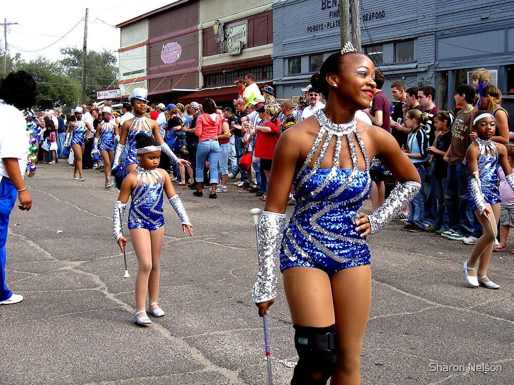 Bay St. Louis Mardi Gras #1 by Sharon Nelson