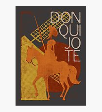 Books Collection: Don Quixote Photographic Print