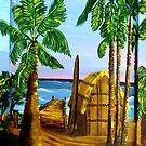 Oko's Beach Shack by WhiteDove Studio kj gordon