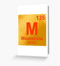 New Element Discovery:  Moonshine Greeting Card