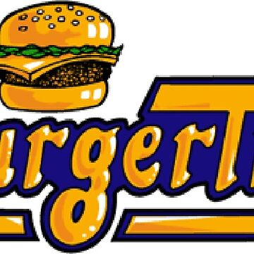 BurgerTime Arcade Logo by 8BitClassics