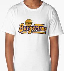 BurgerTime Arcade Logo Long T-Shirt