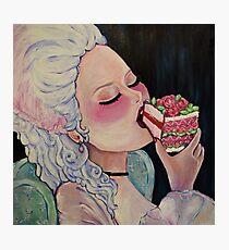 Let them Eat Cake Photographic Print