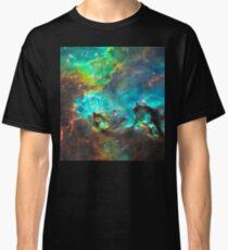 Green Nebula Classic T-Shirt
