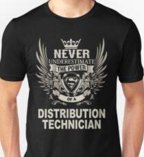 DISTRIBUTION TECHNICIAN Unisex T-Shirt