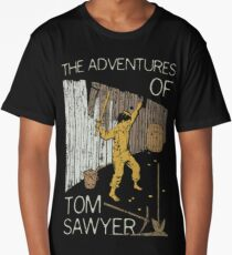 Books Collection: Tom Sawyer Long T-Shirt