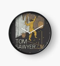 Books Collection: Tom Sawyer Clock