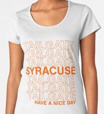 Syracuse Tailgate Women's Premium T-Shirt