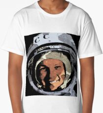 Cosmonaut Valentina Tereshkova-2 Long T-Shirt