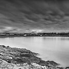 Two Minutes At Barry Island Mono by Steve Purnell