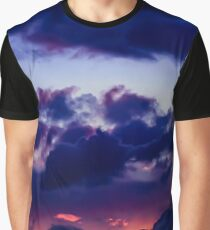 Skyscapes: Dwindling Flame Graphic T-Shirt
