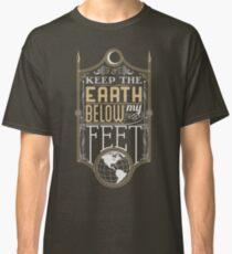 Mumford Typography (earth)(gold) Classic T-Shirt
