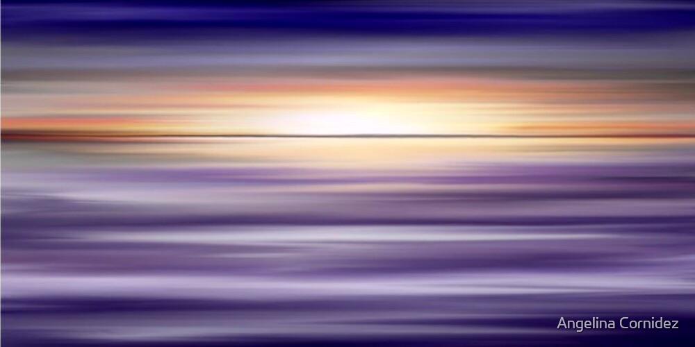 Purple Sunset by Angelina Cornidez