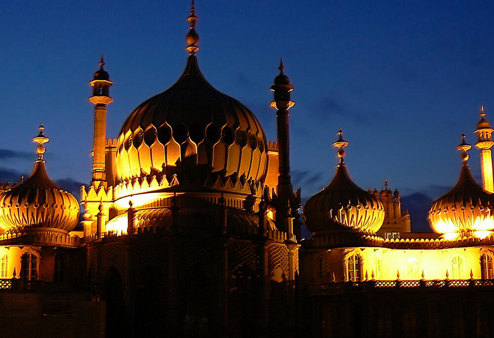 Royal Pavillion, Brighton. by mariarty