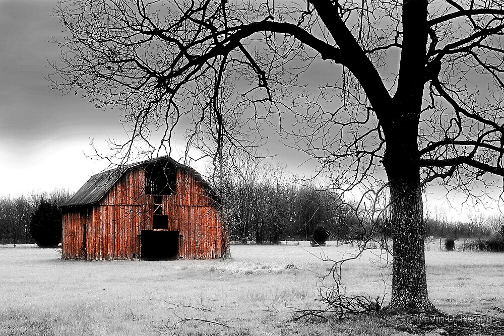 Winter Barn by Kevin D. Raney