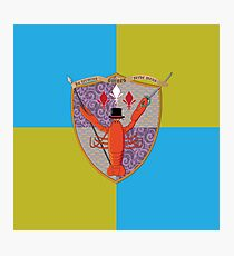 Lobster Coat of Arms Photographic Print