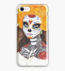 La Flor de Muerto iPhone Case/Skin