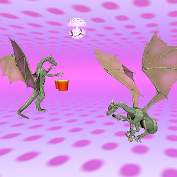 Karaoke Night At The Dragon Club by dmoilanen