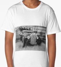 hot rod, vintage, black and white Long T-Shirt