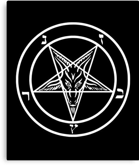 Quot Inverted Pentagram With Sigil Of Baphomet Goat Head