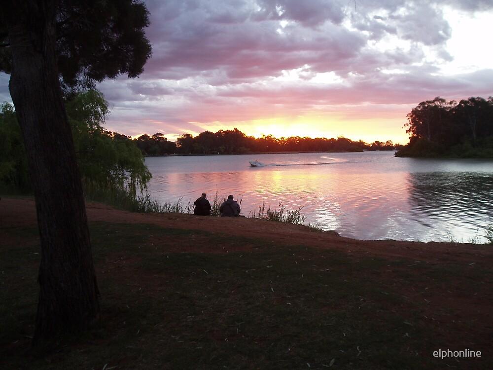 Renmark sunset 2 by elphonline