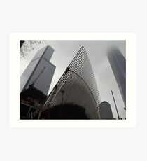 World Trade Center Transit Hub, 4 World Trade Center, New World Trade Center, Lower Manhattan, New York City  Art Print