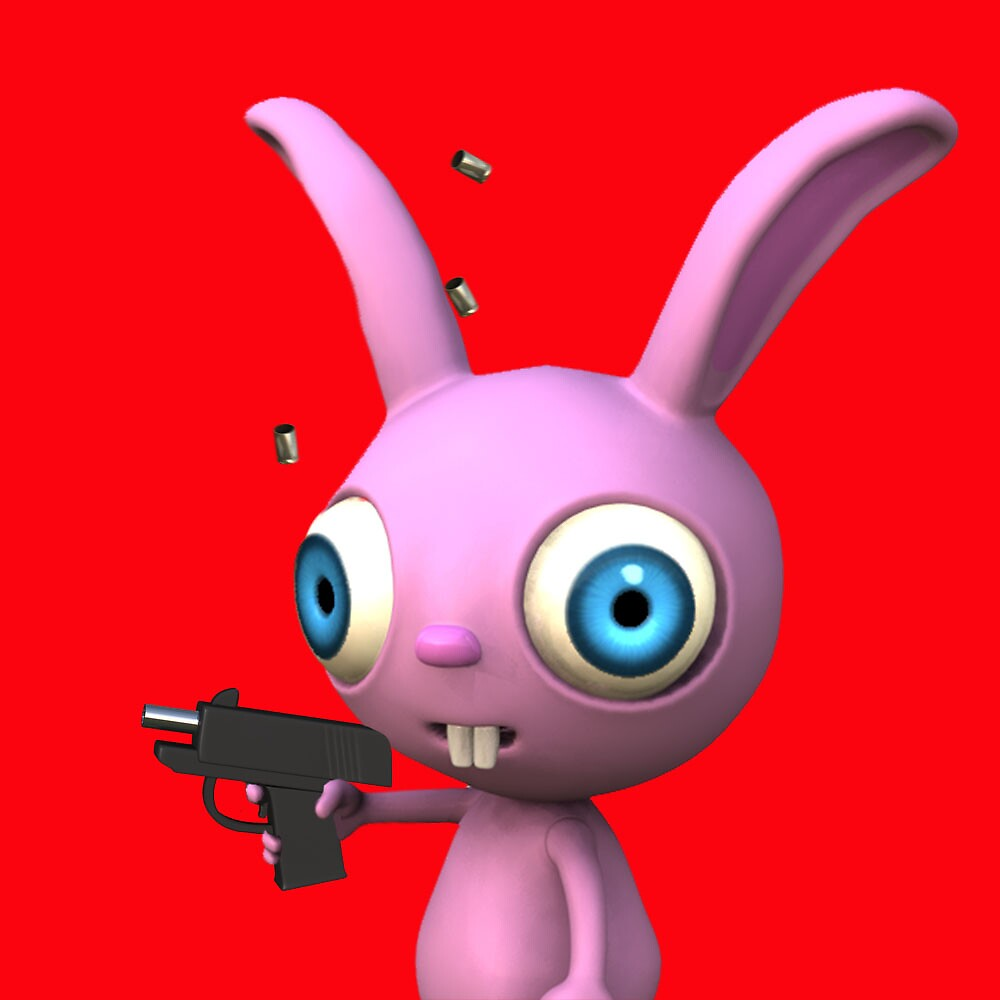 Bunny Gun by johnnyz