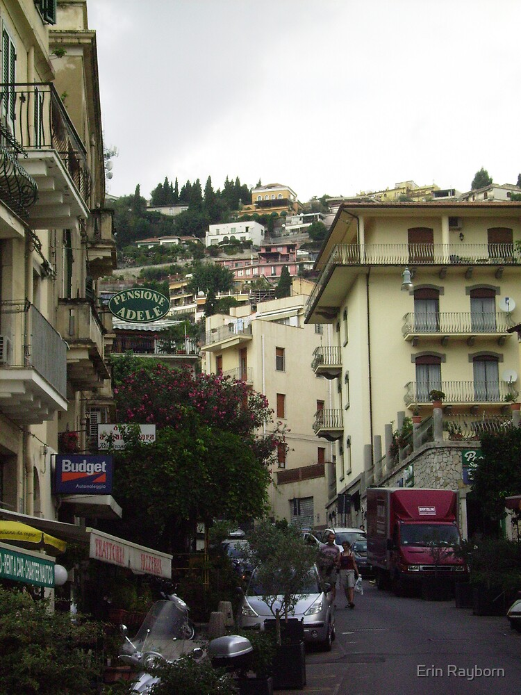 Taormina, Sicily by Erin Rayborn