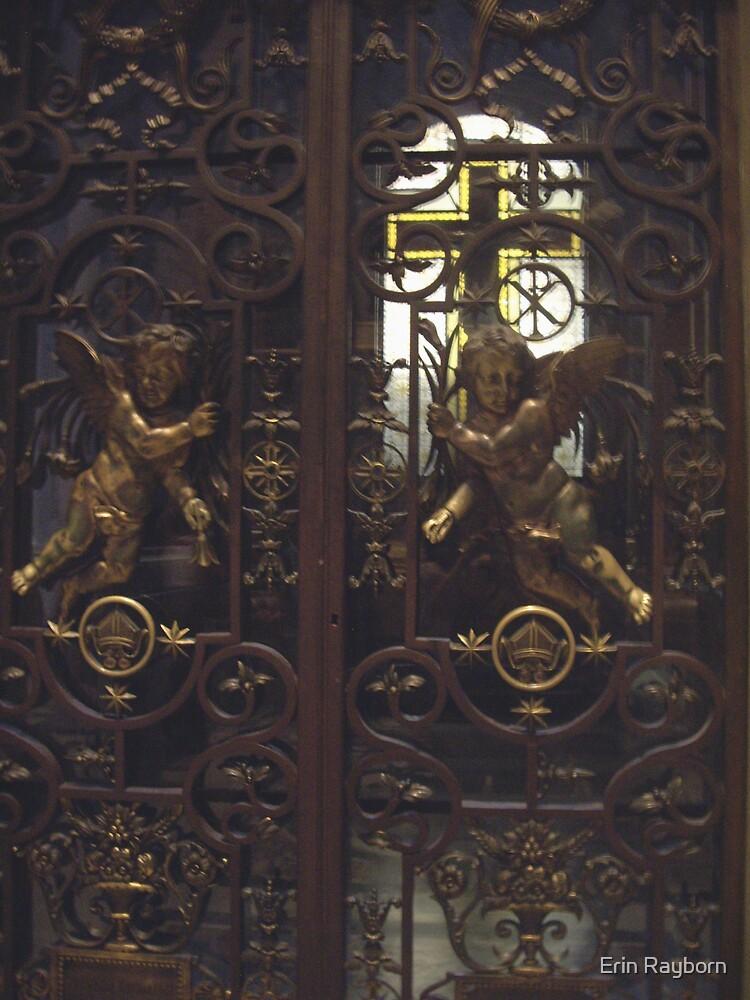 Cherub Gates, St. Peter's Cathedral by Erin Rayborn