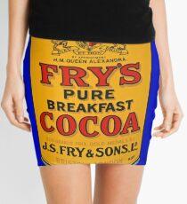 Tin Plate Sign - Fry's Breakfast Cocoa Mini Skirt