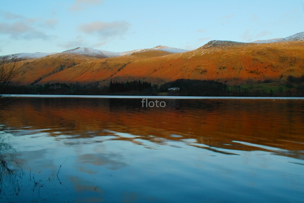 Thirlmere by Evening Light by floto