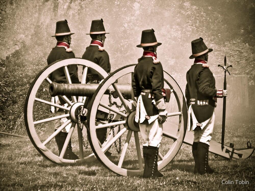 The Royal Artillery by Colin Tobin