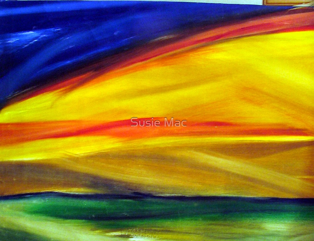 Sunsets in Skin by Susie Mac