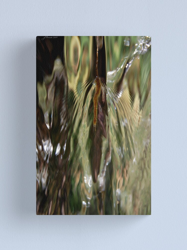 Alternate view of Dances with Water Canvas Print