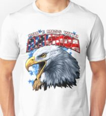 Dont Mess With Merica - We Are Strong And Leaders Of This World Tshirt Unisex T-Shirt
