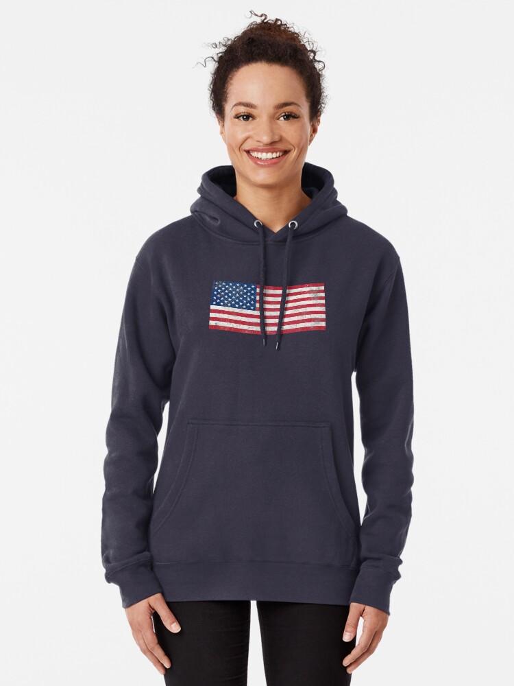 Vista alternativa de Sudadera con capucha Estados Unidos