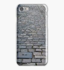 Street in Nykøbing Denmark pavement stones iPhone Case/Skin