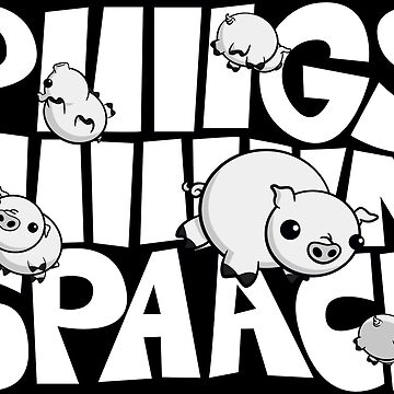 Pigs in Space Illustration by rideawave