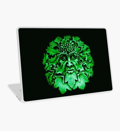 Grüner Mann Laptop Folie