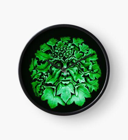 Grüner Mann Uhr